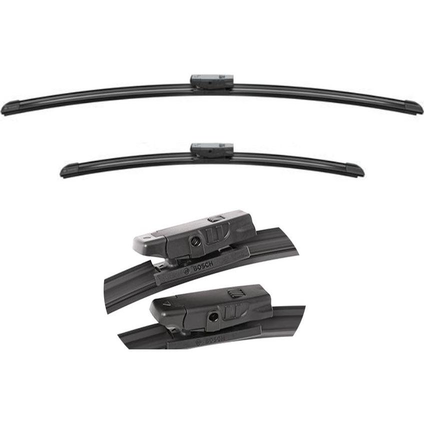 Fotografie Set stergatoare Bosch AeroTwin Multi-Clip, pentru parbriz 53 cm si 45 cm, cu prindere universala