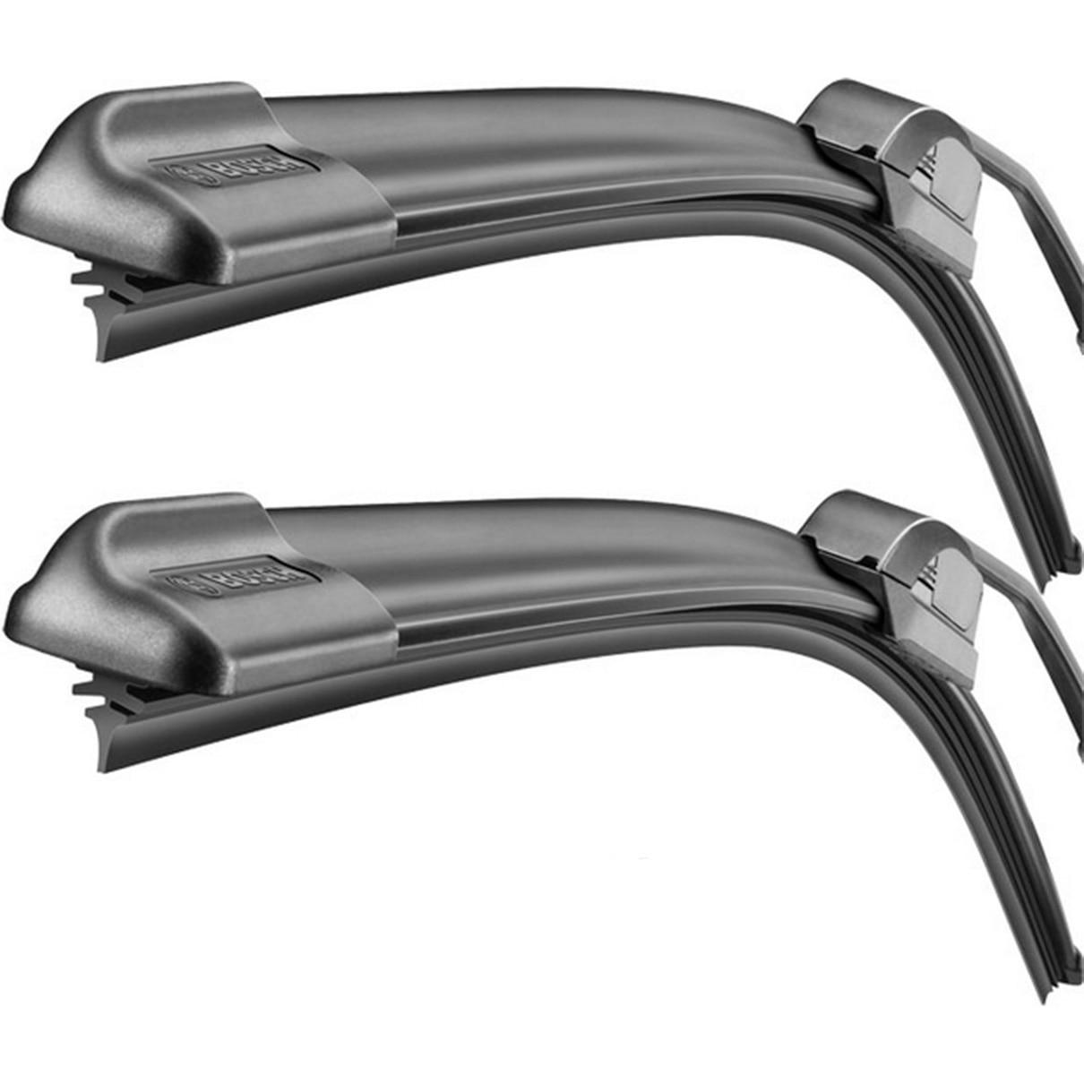 Fotografie Set stergatoare Bosch AeroTwin Retrofit, pentru parbriz 55 cm si 47.5 cm, pentru prindere clasica (carlig)