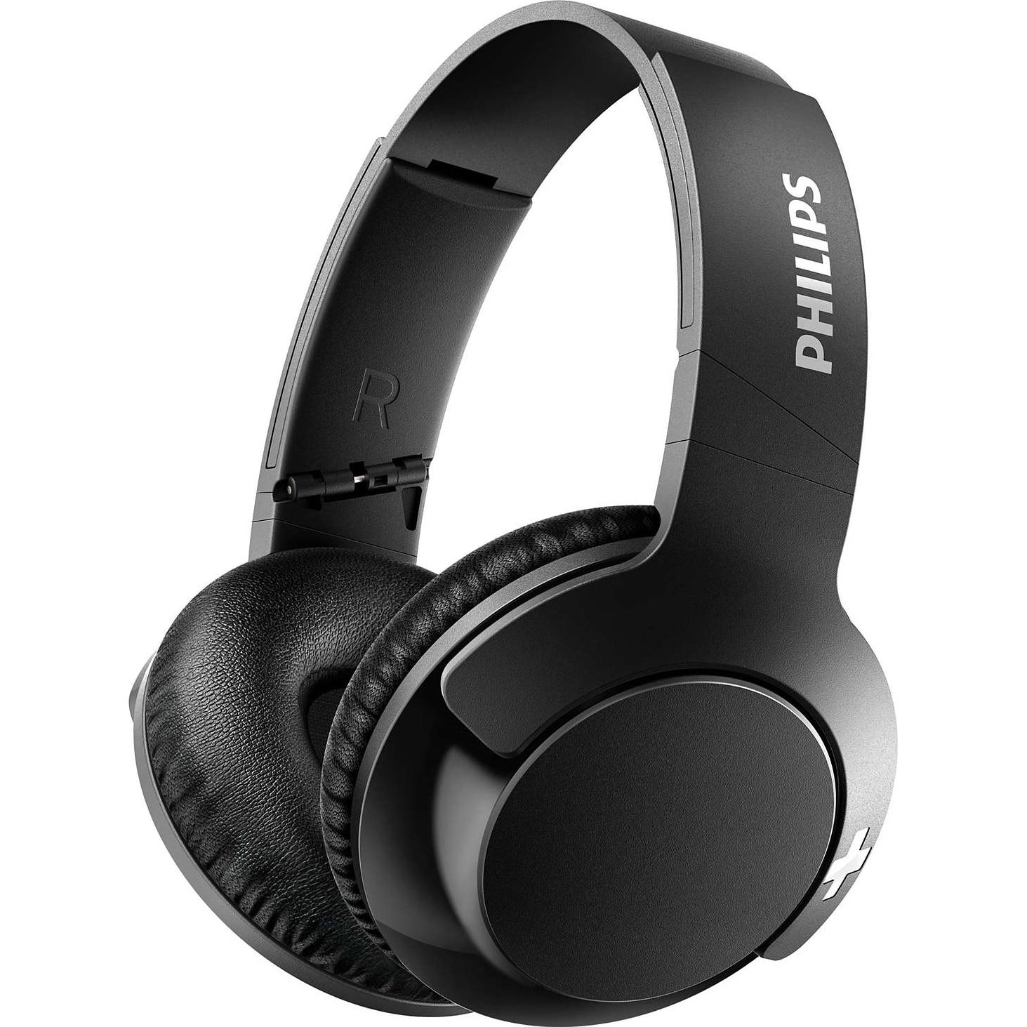 Fotografie Casti Audio Over-Ear Philips, SHB3175BK/00, Bluetooth, Autonomie 12h, Negru
