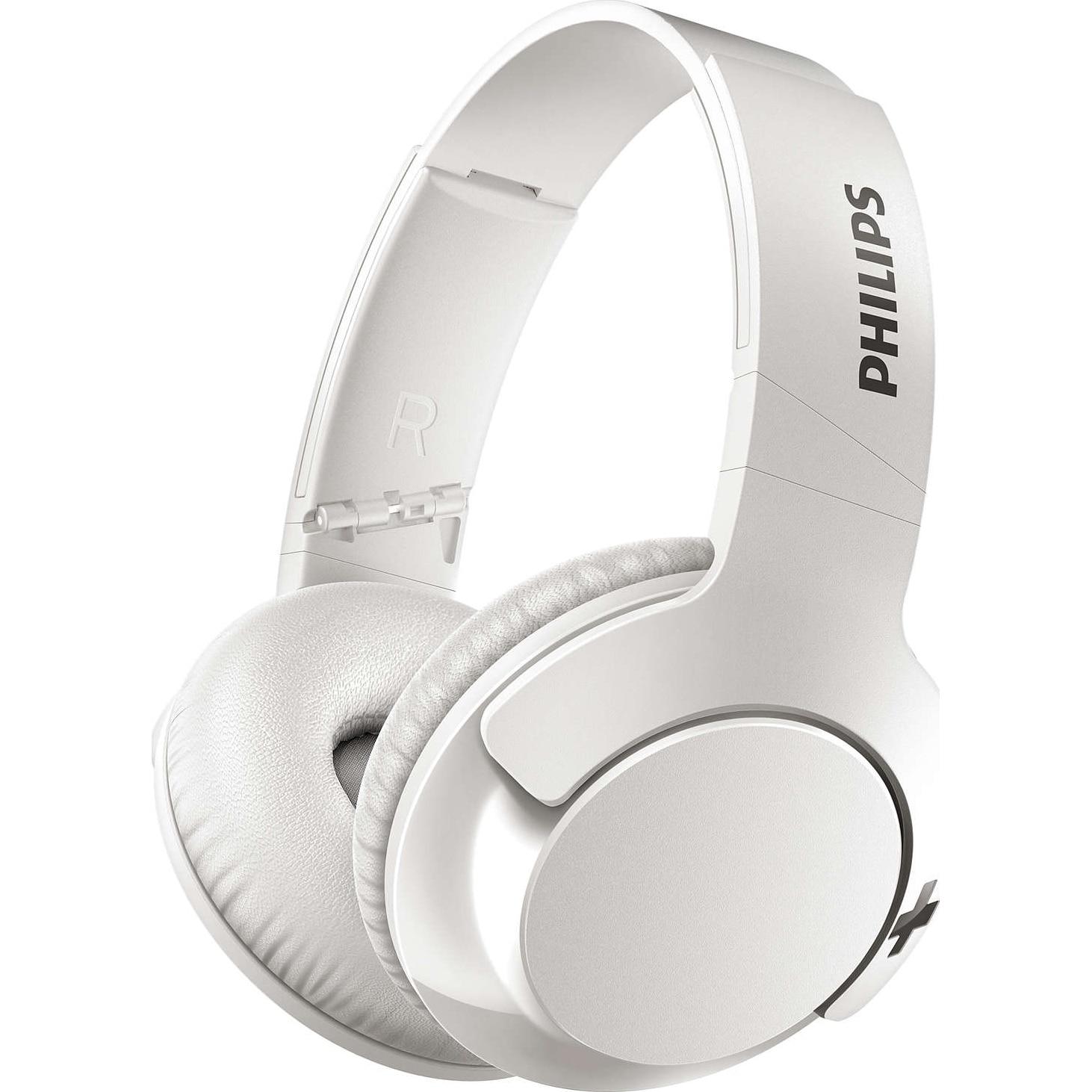 Fotografie Casti Audio Over-Ear Philips, SHB3175WT/00, Bluetooth, Autonomie 12h, Alb