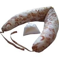 Szoptatós párna levehető huzattal, erdei móka 140x30 cm