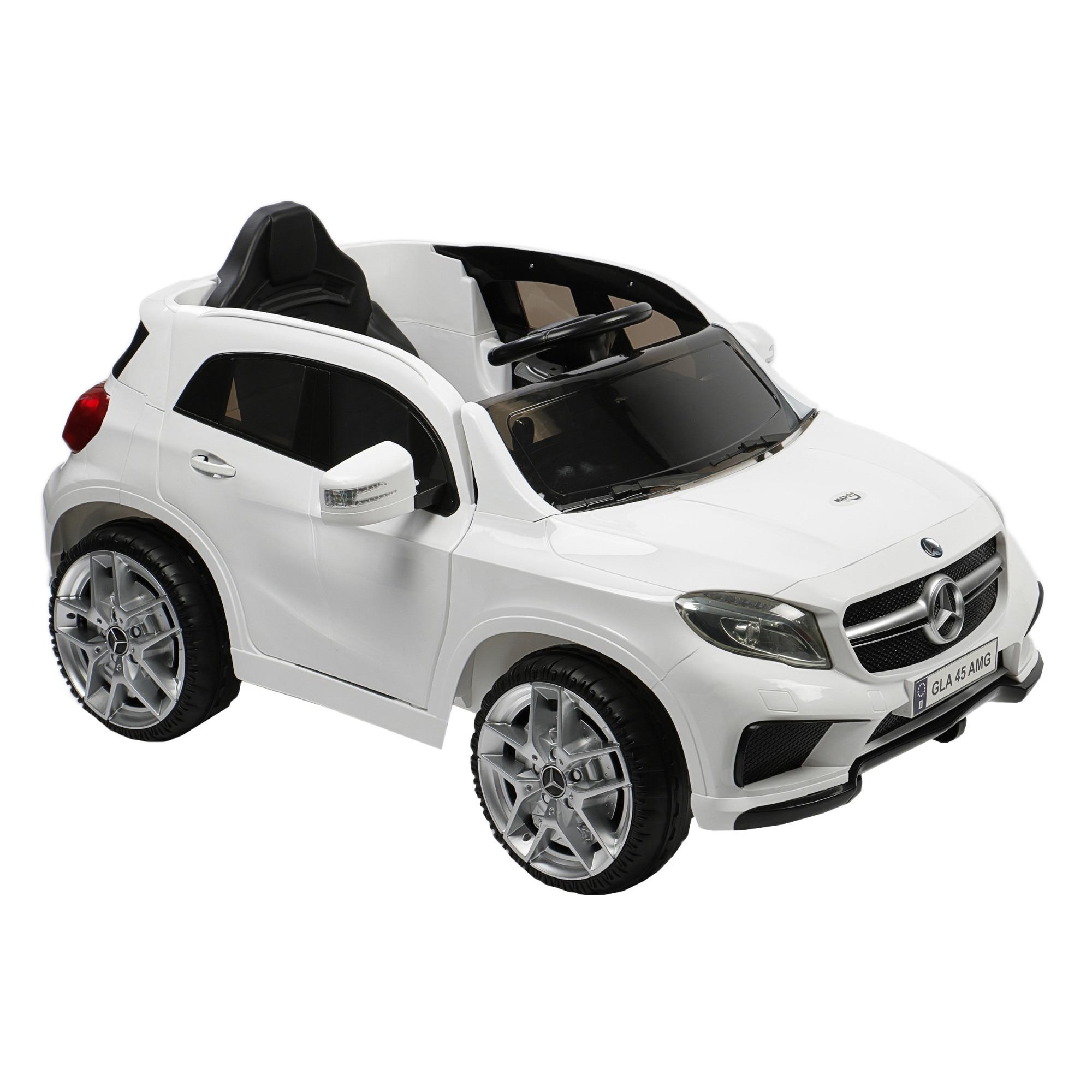 M Toys Elektromos Gyerekauto Taviranyitoval Mercedes Benz Gla 45 Amg Feher Emag Hu