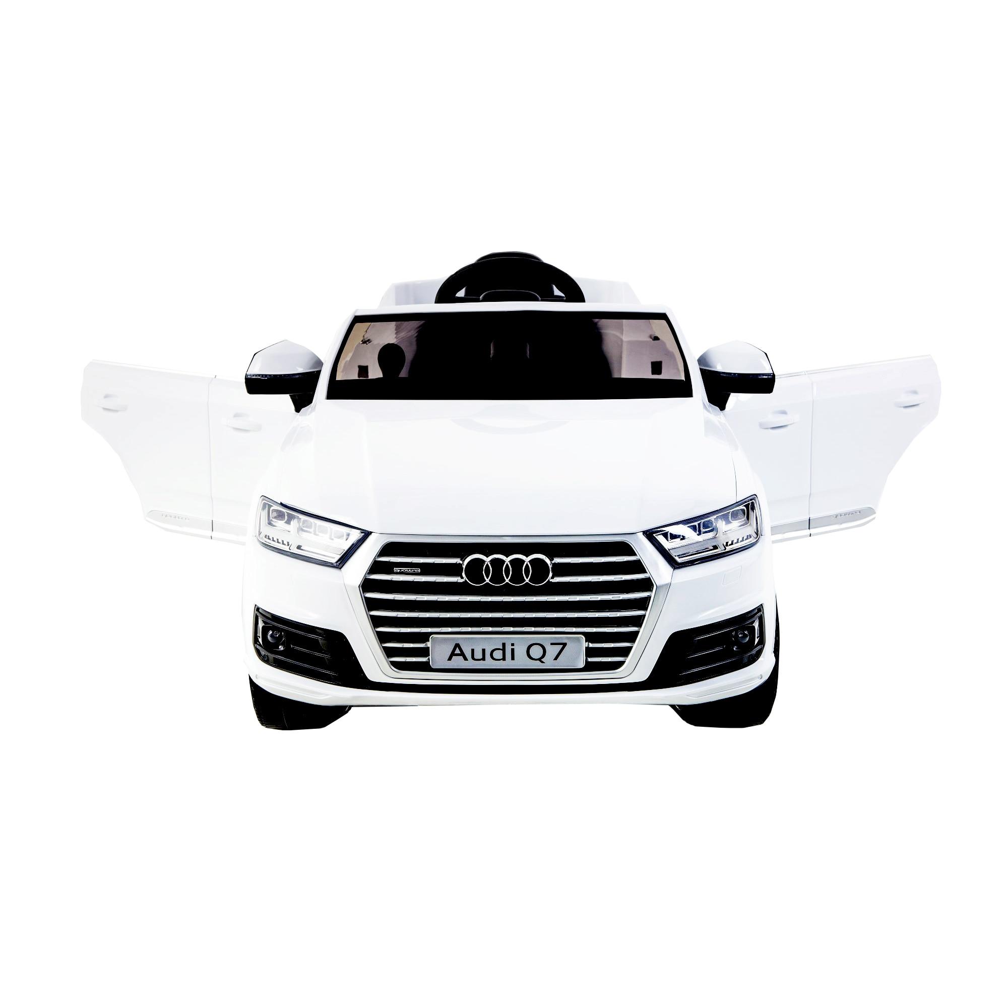 Fotografie Masinuta electrica cu telecomanda pentru copii, Mappy, Audi Q7, Alb