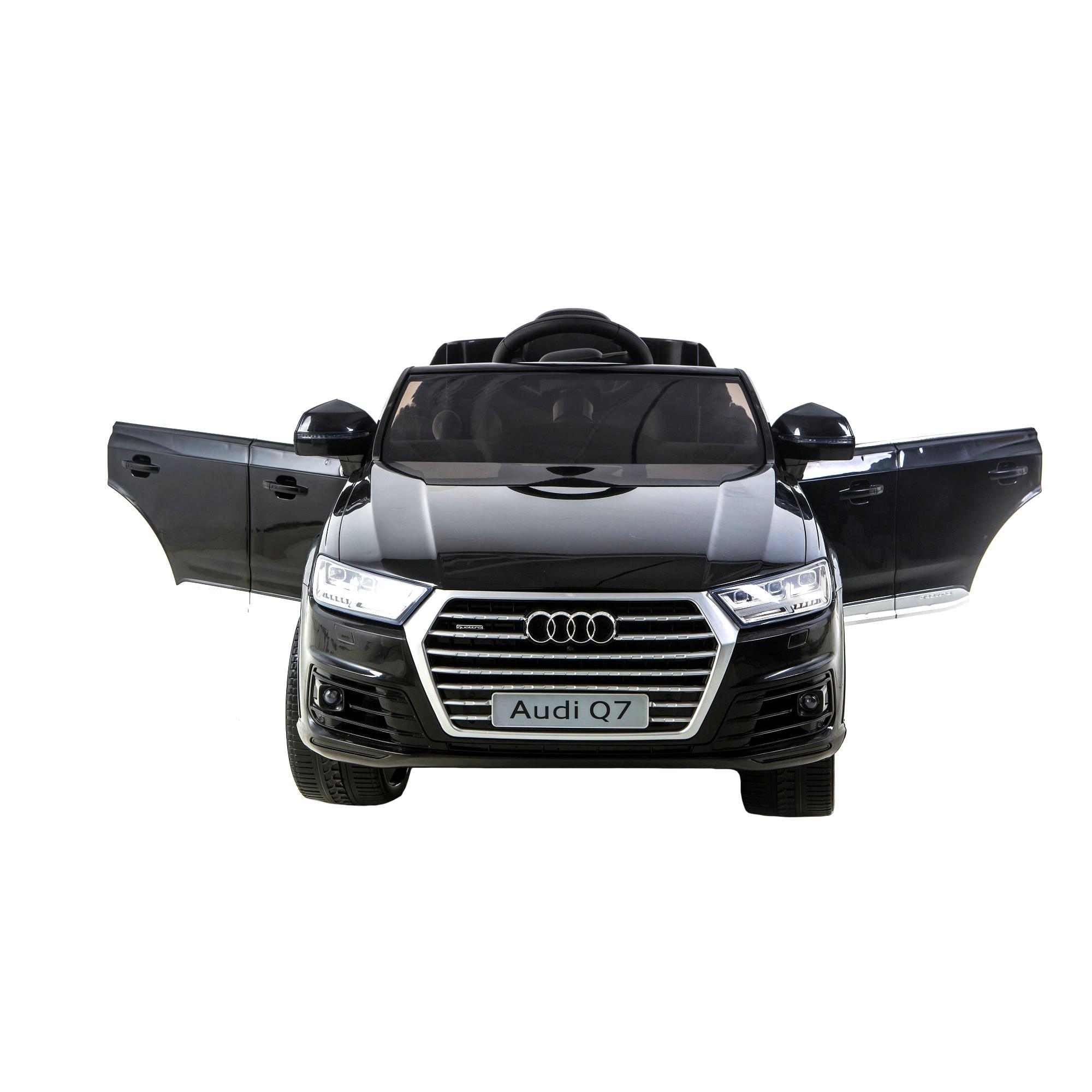Fotografie Masinuta electrica cu telecomanda pentru copii, Mappy, Audi Q7, Negru