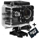 Sport kamera iUni Dare 50i HD 1080P, 12M, vízálló, Fekete + Kártya MicroSD 8GB