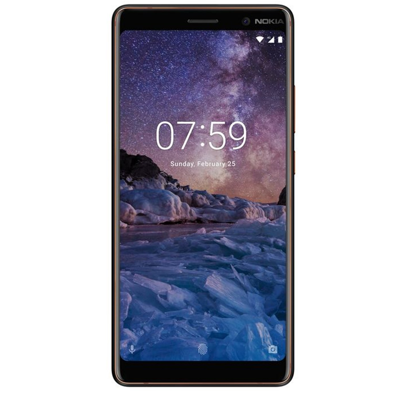 Fotografie Telefon mobil Nokia 7 Plus, Dual SIM, 64GB, 4G, Black Copper