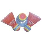 Spartan színes tollaslabda szett
