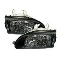 HONDA CIVIC 09.91-08.95 2D/3D/4D fekete első lámpa