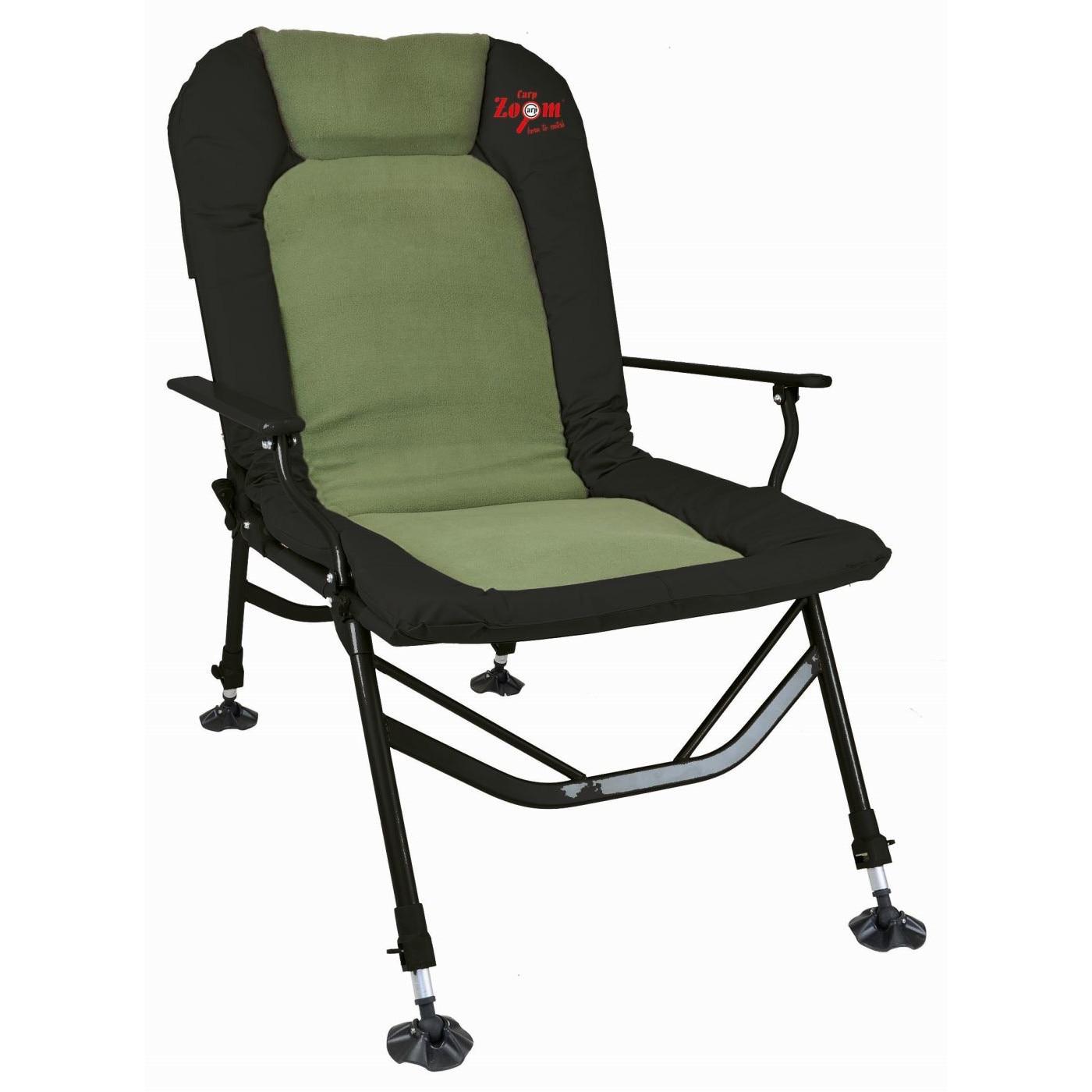 Carp Zoom 150+ Extra erős karfás horgász szék, 60x57X49110 cm max terherbírás: 165 kg