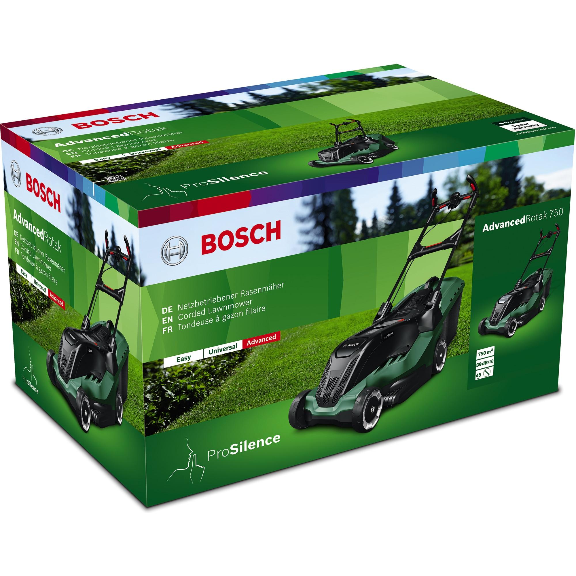 Bosch AdvancedRotak 750 elektromos fűnyíró (06008B9300)