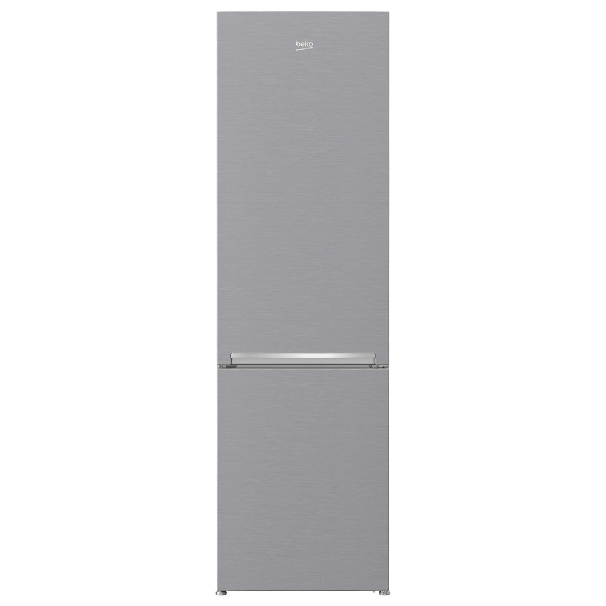 Fotografie Combina frigorifica Beko RCSA400K30XB, 380 l, Clasa A++, Active Fresh Blue Light, Compartiment 0°-3°C, H 201 cm, Argintiu
