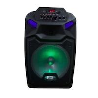 Boxa portabila Karaoke S12, Selling Depot 1000 W cu microfon,microSD card, USB , AUX in , bluetooth , display digital
