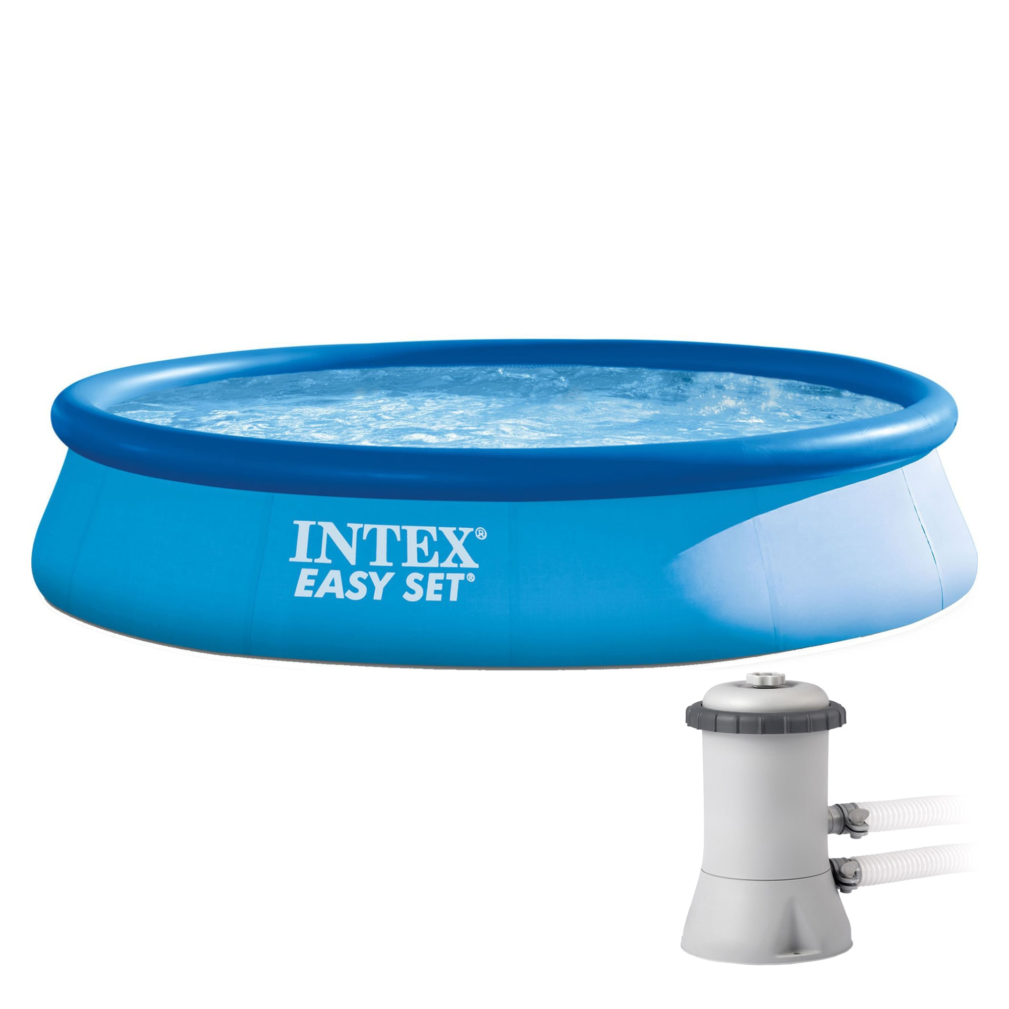 Fotografie Piscina Intex Easy Set pentru copii, 3.96m x 84cm