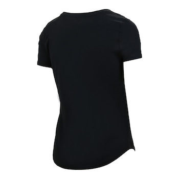 Детска тениска Nike Flower Jam T-Shirt, черен, размер S
