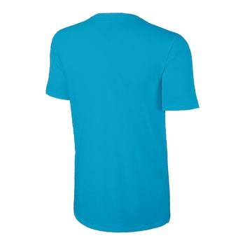 Детска тениска Nike SS Swoosh, син, размер S