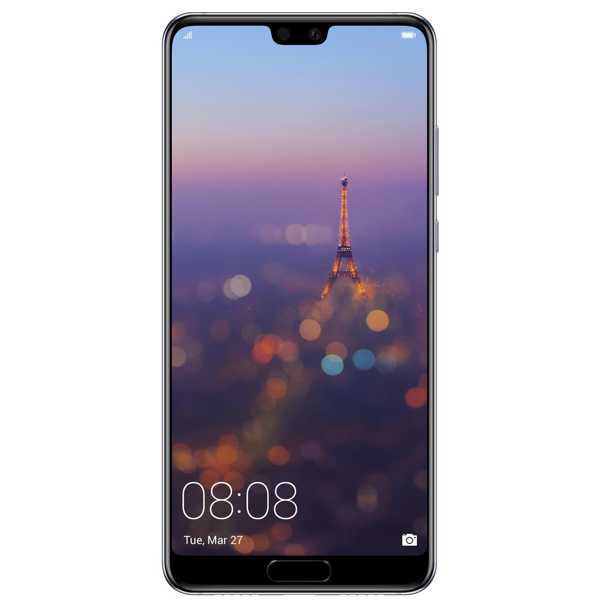 Fotografie Telefon mobil Huawei P20, Dual SIM, 128GB, 4G, Blue