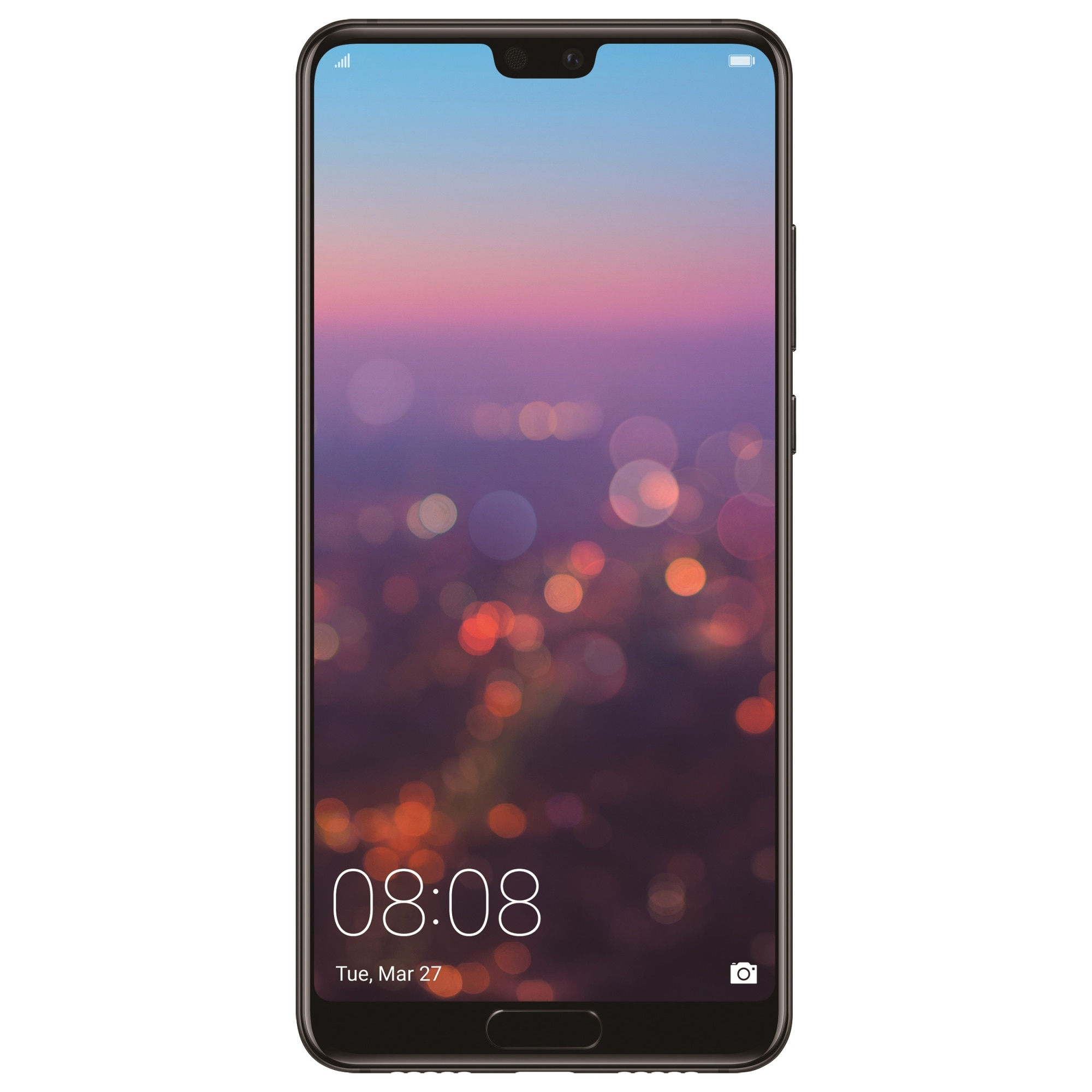 Fotografie Telefon mobil Huawei P20, Dual SIM, 128GB, 4G, Black
