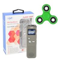 Диктофон PNI RedStone, Audio Stereo, Video 1080P, подарък PNI Speedy Green