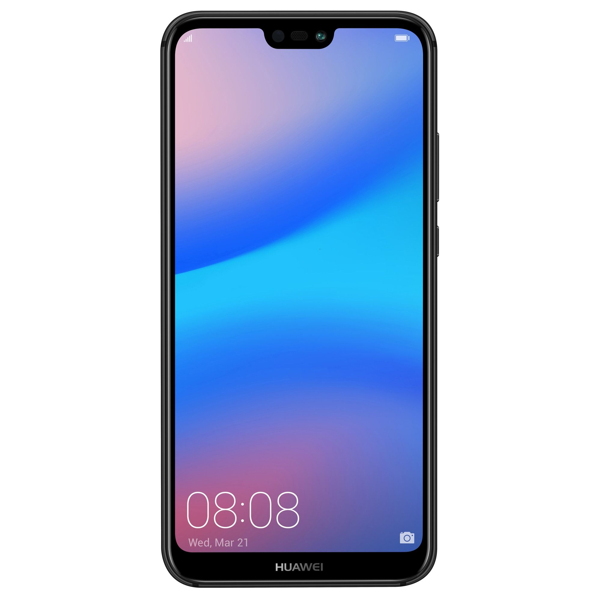 Fotografie Huawei P20 Lite mobile phone, Dual SIM, 64GB, LTE, Black