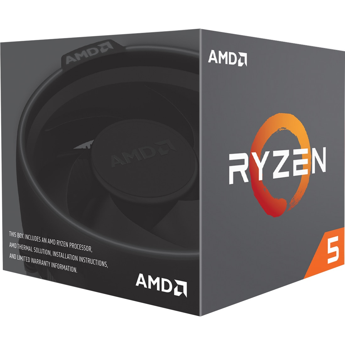Fotografie Procesor AMD Ryzen 5 2600X, 4.25GHz, 19MB, Socket AM4, Wraith Spire cooler