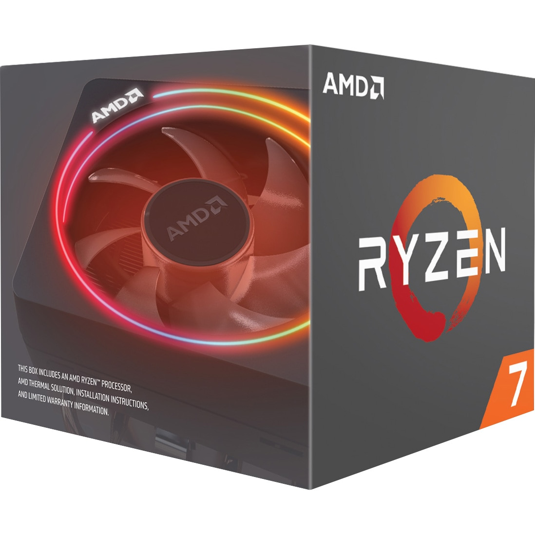 Fotografie Procesor AMD Ryzen 2700X, 4.3GHz, 20MB, Socket AM4, Wraith Prism cooler