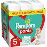 Pampers Pants Havi pelenkacsomag, 5-ös méret, 12-17 kg, 152 db
