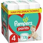 Pampers Pants Havi pelenkacsomag, 4-es méret, 9-15 kg, 176 db