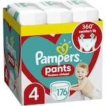 Scutece-chilotel Pampers Pants XXL Box Marimea 4, 9-15 kg, 176 buc