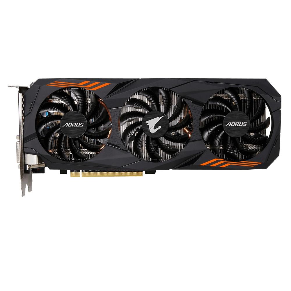 Fotografie Placa video Gigabyte AORUS GeForce® GTX 1060 6G, 6GB GDDR5, 192-bit
