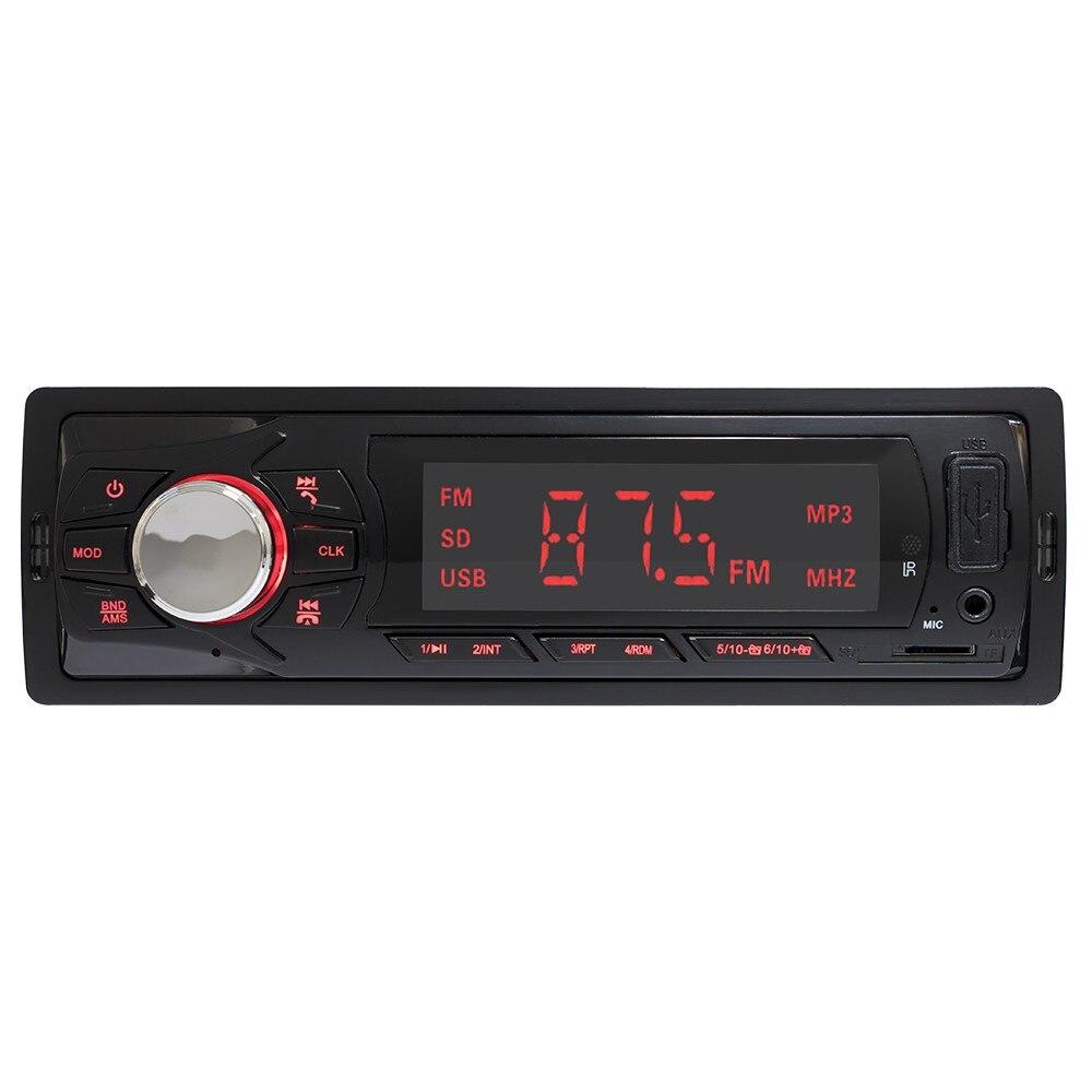 Fotografie Radio MP3 player auto PNI Clementine 8450BT 4x45w 1 DIN cu SD, USB, AUX, RCA si Bluetooth