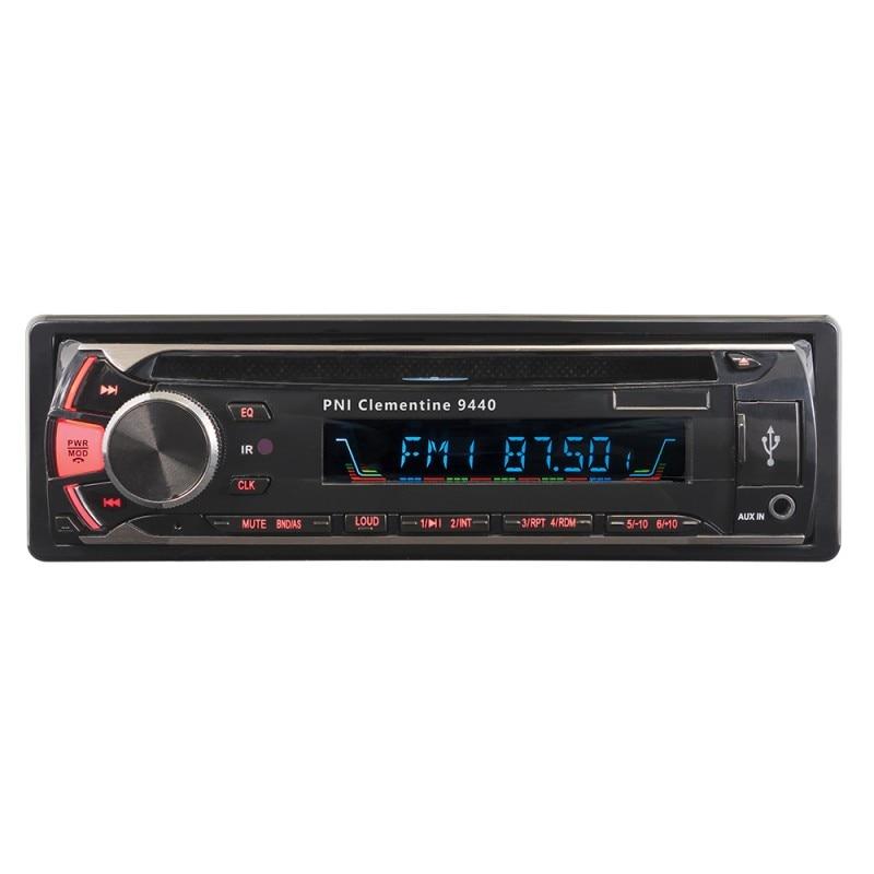 Fotografie Radio DVD auto PNI Clementine 9440 1 DIN radio FM, SD, USB, iesire video