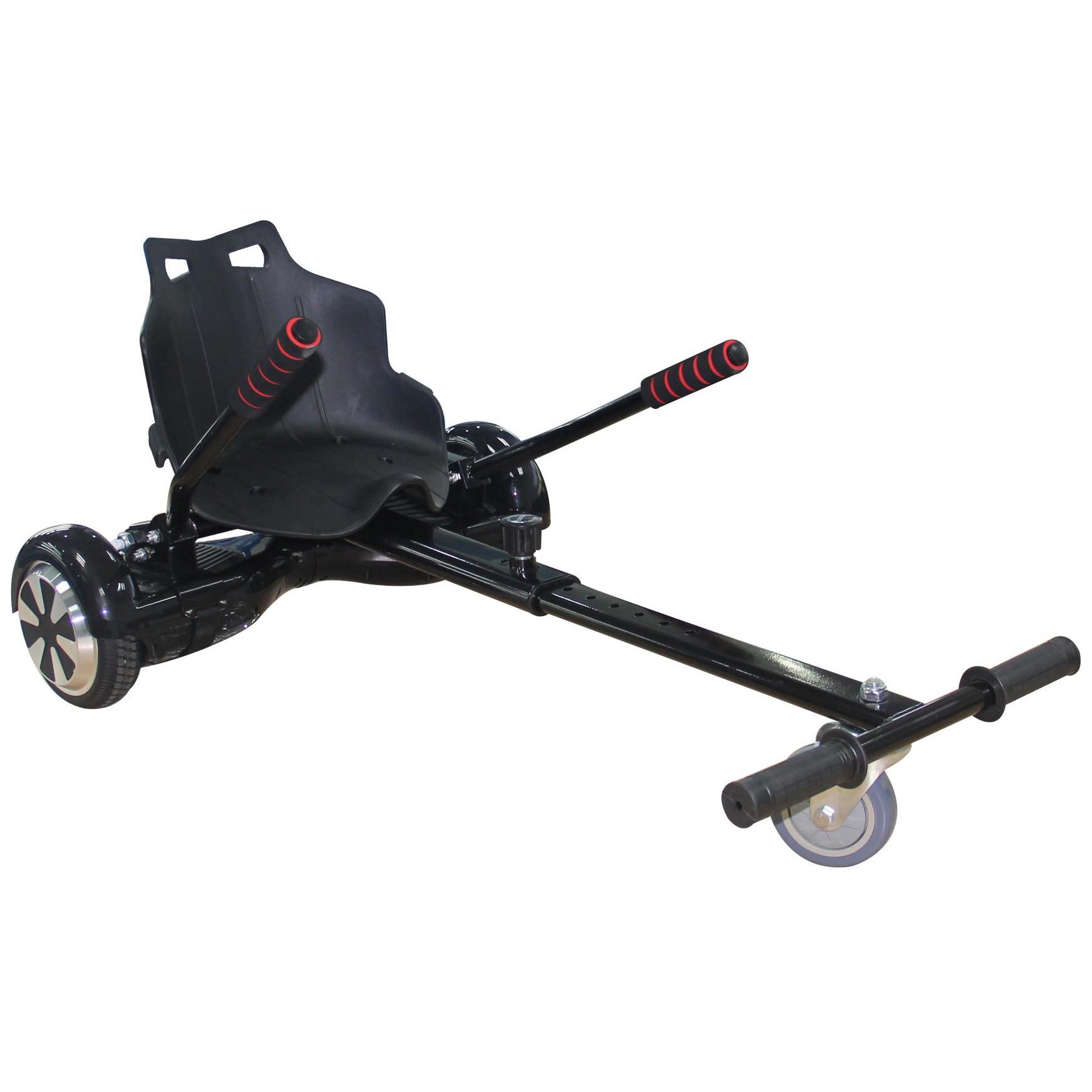 "Fotografie Hoverseat 2Drive, compatibil cu scooter electric de 6.5"", 8"", 8.5"", 10"", Negru"