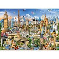 puzzle 2000 piese lidl