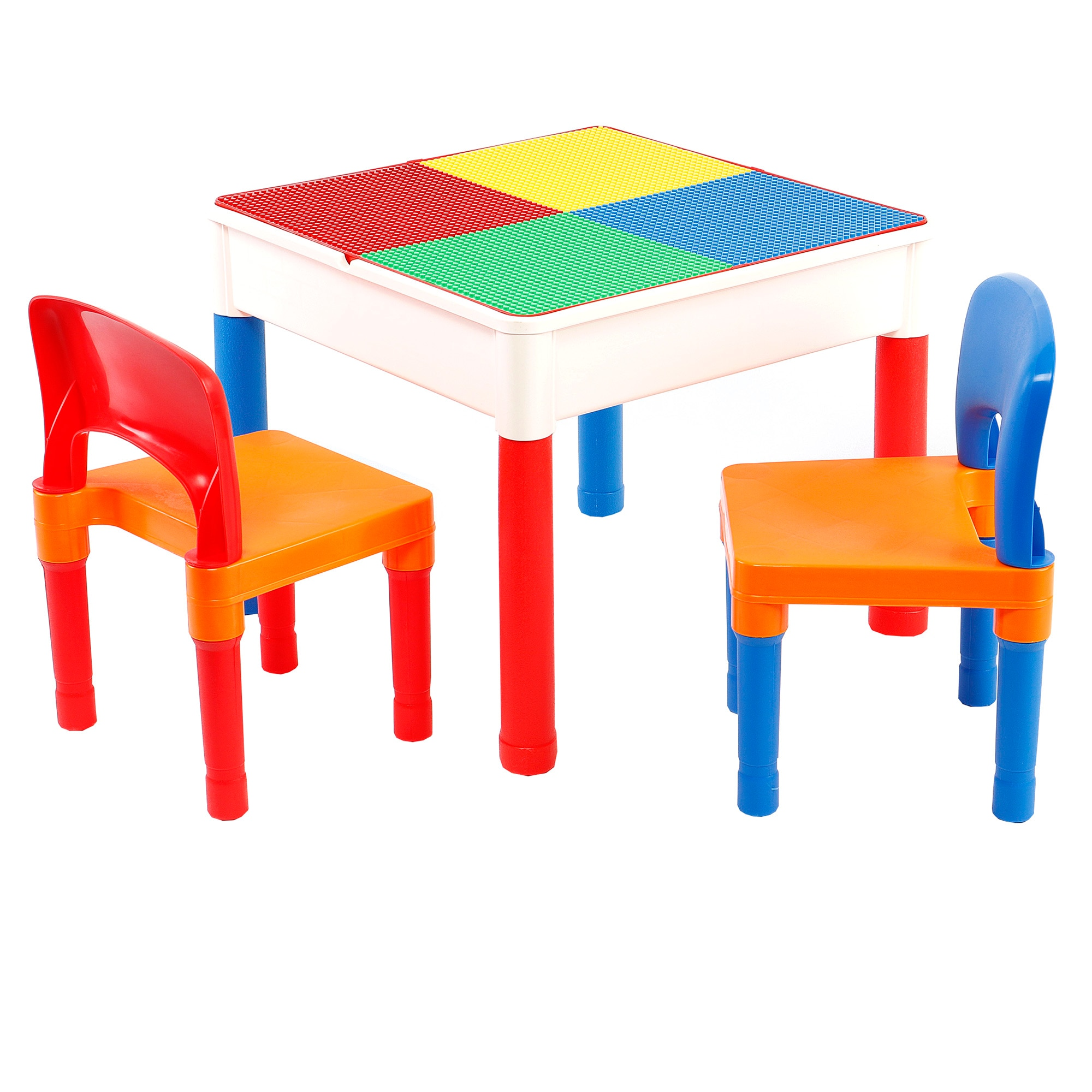 Fotografie Set masuta activitati Mappy, cu 2 scaune, Multicolor