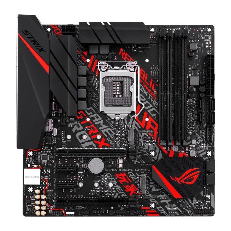 Fotografie Placa de baza ASUS STRIX B360-G GAMING, Socket 1151