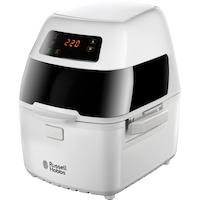 Фритюрник Russell Hobbs CycloFry Plus 22101-56, 1300 W, 220°C, Включени аксесоари, Цифрово управление, 1 кг, Бял