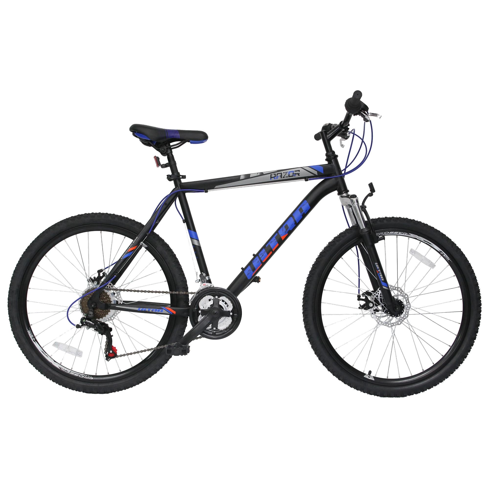 "Fotografie Bicicleta MTB 26"" Ultra Razor, Blak/Blue, 52cm, L"