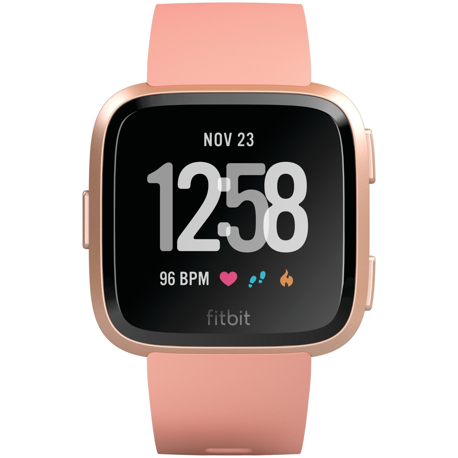 Fotografie Ceas smartwatch Fitbit Versa, Roz