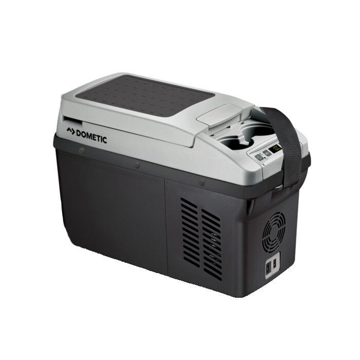 Fotografie Frigider auto cu compresor Dometic-Waeco CoolFreeze CF 11, 10.5L, 12/24V, 8.5KG,Gri