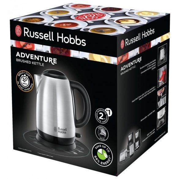 Russell Hobbs 23912-70 Adventure vízforraló, 2400W, 1.7L, Ezüst J7X83y