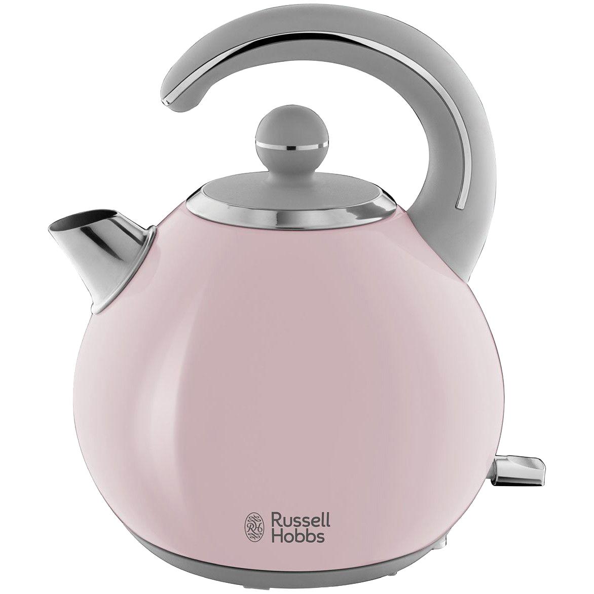 Fotografie Fierbator Russell Hobbs Bubble Soft Pink 24402-70, 2300 W, 1.5 L, Inox, Roz