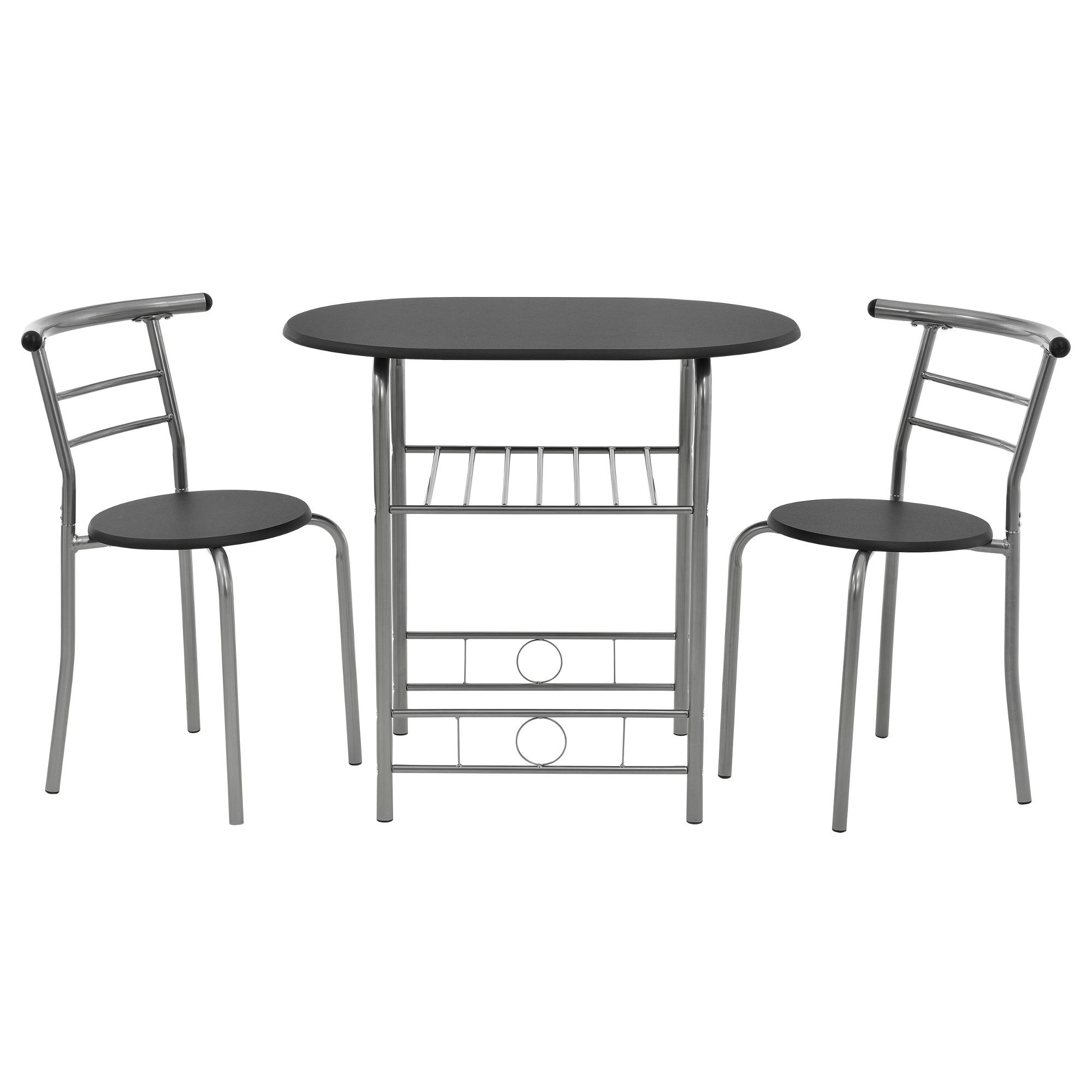 design összetolható bisztro asztal székekkel