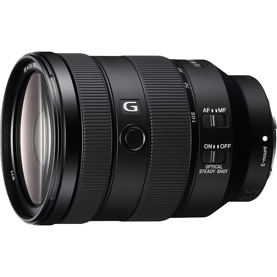 Fotografie Obiectiv Sony, montura FE, 24-105 mm, F4 G OSS, Negru