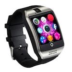 Смарт часовник Smart Wear Q18, слот за сим карта, камера, bluetooth, Сребрист