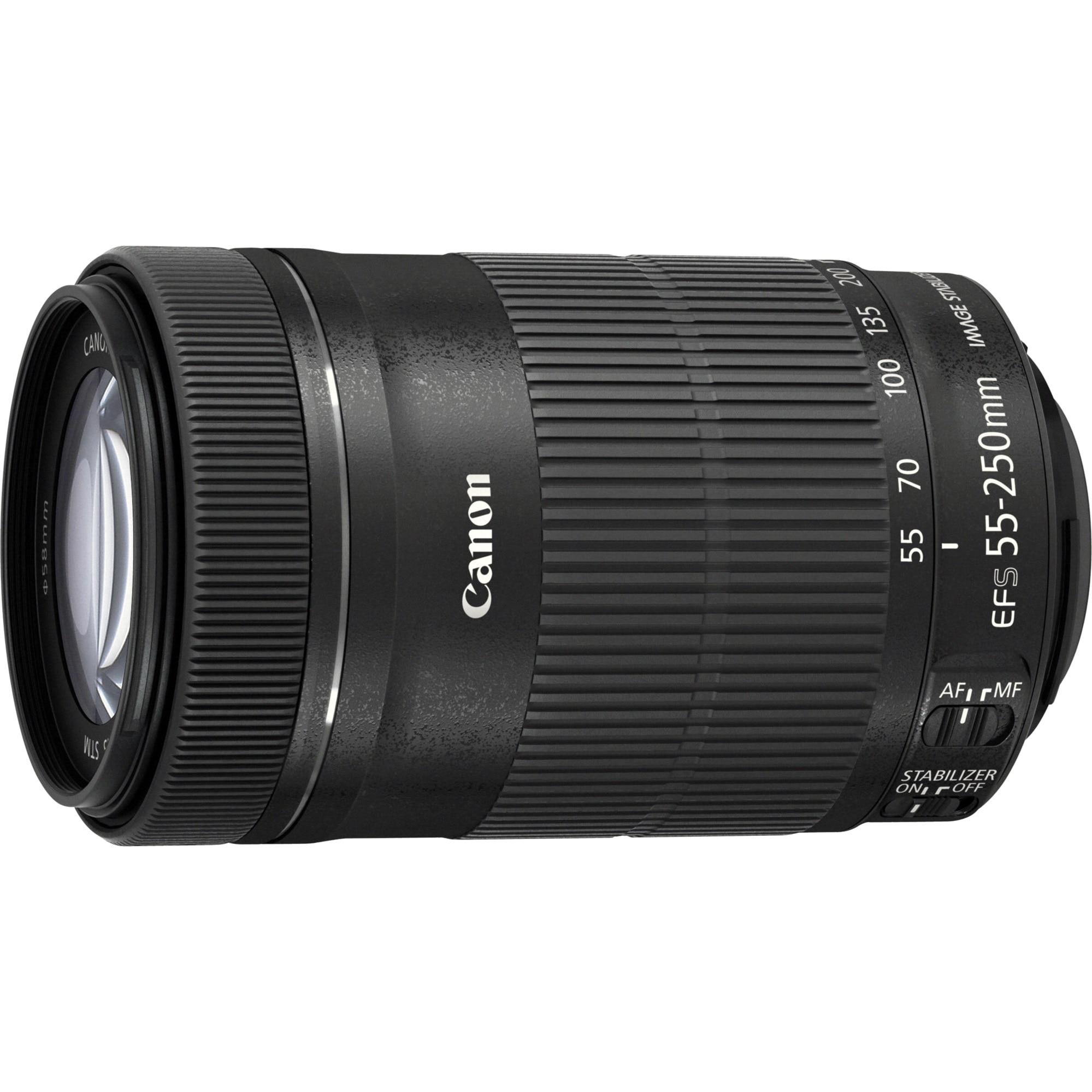 Fotografie Obiectiv Canon EF-S 55-250mm f/4-5.6 IS STM