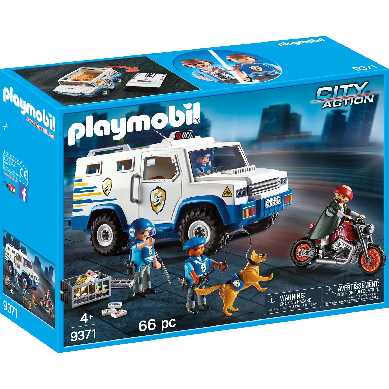 Fotografie Playmobil City Action, Masina de politie blindata