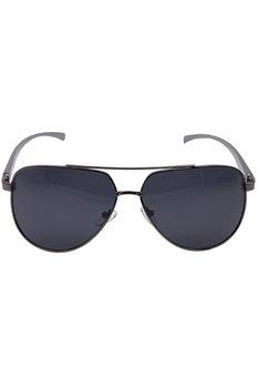 Мъжки слънчеви очила ROCS, Авиатор P1005, Поляризирани, Сив/ Черен