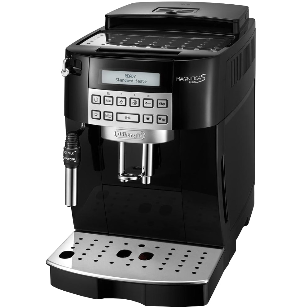 Fotografie Espressor Automat De'Longhi Magnifica 22.320 B, 1450W, 15 bar, 1.8 l, 13 setari, Display LCD, Negru