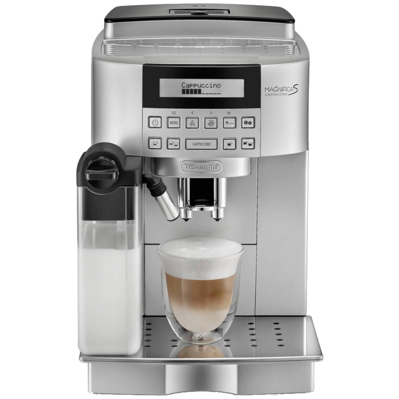 Fotografie Espressor Automat De'Longhi Magnifica 22.360 S, 1450 W, 15 bar, Display Lcd, Cappuccino, Argintiu