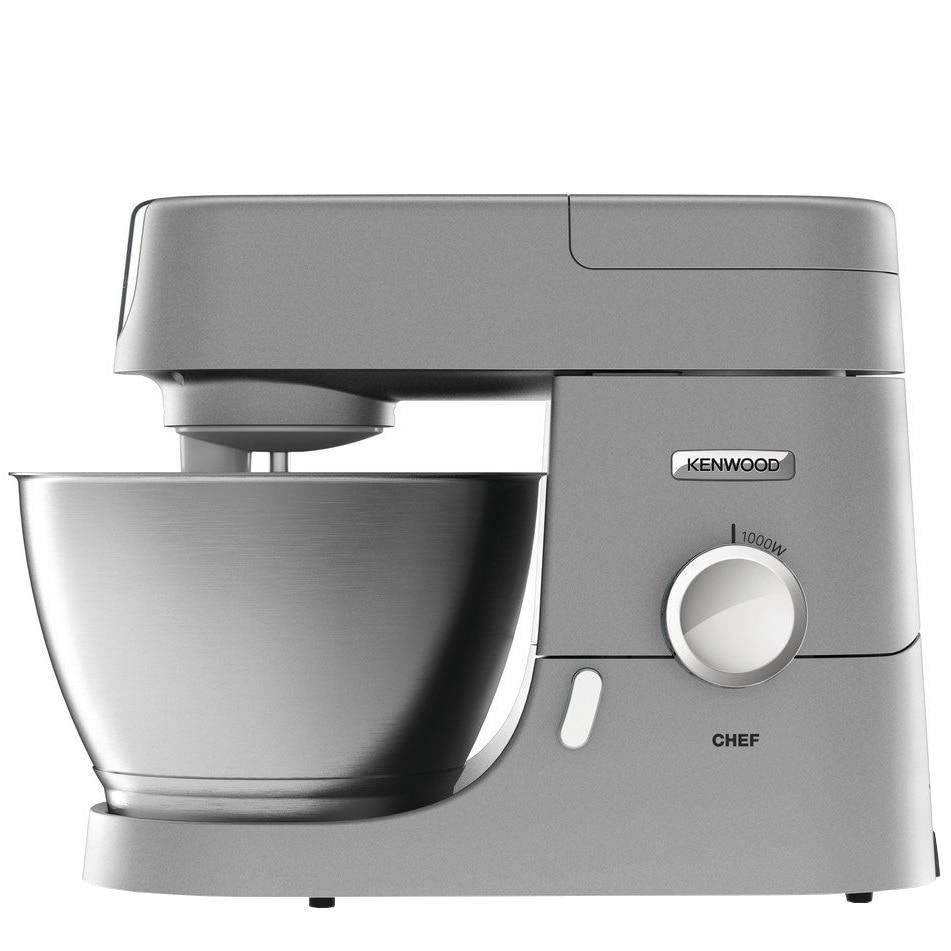 Fotografie Robot de bucatarie Kenwood Chef KVC 3110S, 1000W, Bol Inox 4.6 l, Blender, Argintiu